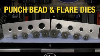 Punch Flare and Bead Dies - Add Style & Strength To Metal Fab Projects! - Eastwood