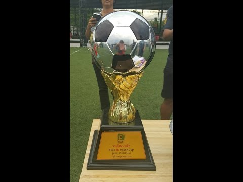 "Special edition :TK Academy got Trophy award winner ""Flick TU Youth Cup U13(2546) on 20/05/2016"