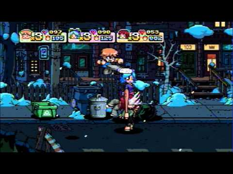 Scott Pilgrim vs. The World : The game - Playthrough Frozen Suburbs Part 1