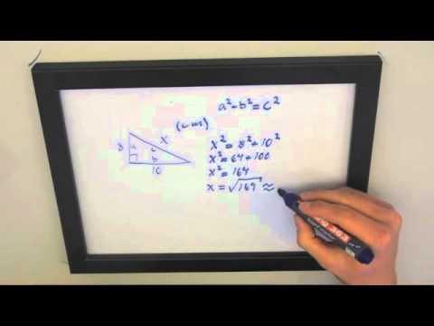 Pythagoras sats area triangel