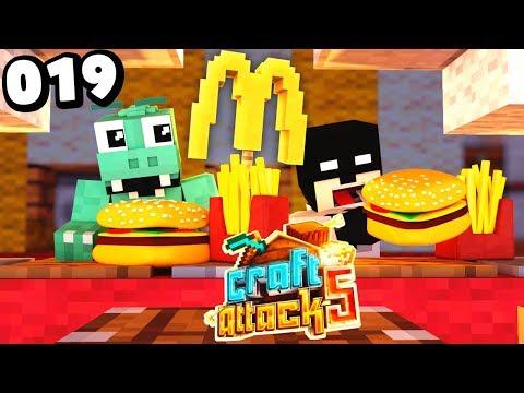 McDONALDS in Minecraft Craft Attack 5 #19 | Zander