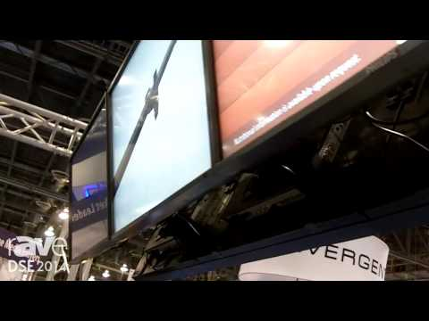 DSE 2014: Crimson AV Talks About Its CML and CMP Menu Board Mounting Systems
