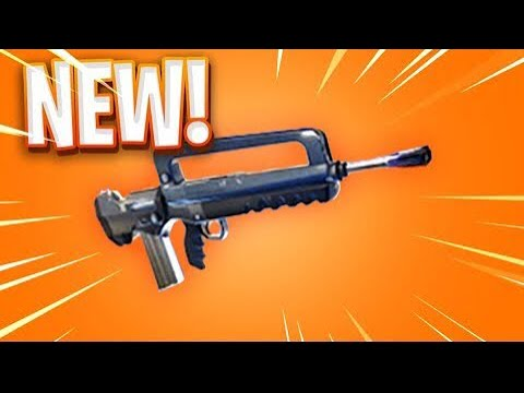 NEW BURST ASSAULT RIFLE !!! W/ commercial gaming
