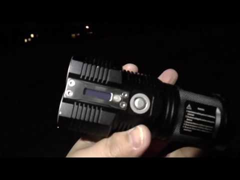 Thrunite TN36-UT 7300 Lumens vs Nitecore TM26 3500 Lumens Outdoor Field Test Review and Comparison