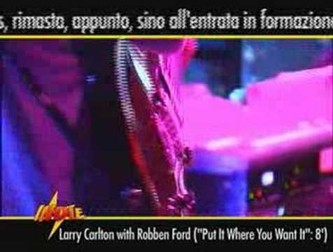 Larry Carlton Blues Project with Robben Ford