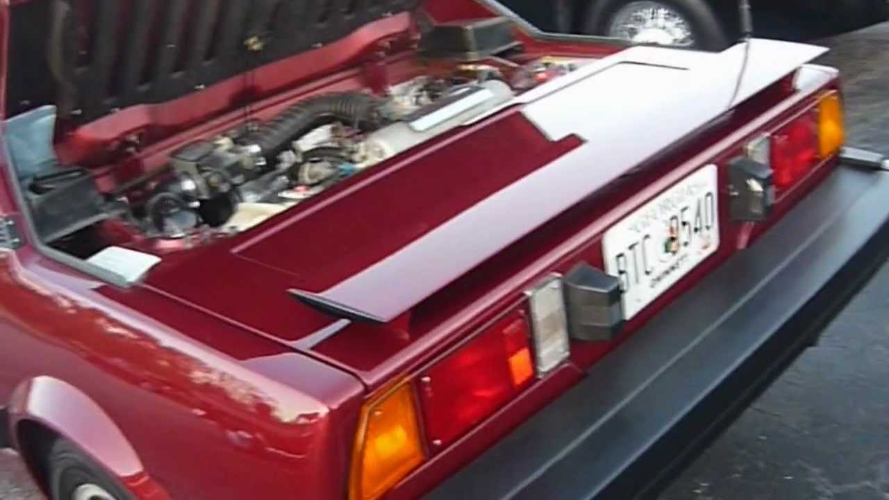 1987 Bertone Fiat X1 9 Youtube