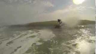Surfing Amelia Island, Florida