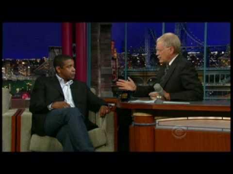 David Letterman Denzel Washington Prt1of2 June 11th 2009
