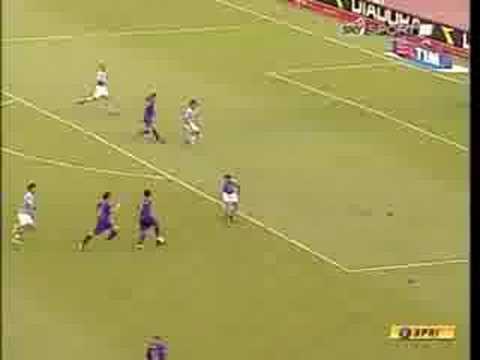 Napoli-Fiorentina 2-1 + intervista finale a Lavezzi 14/09/08