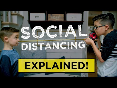 Kids Explain Social Distancing! Share THIS with kids, parents, teachers, friends, and loved ones!