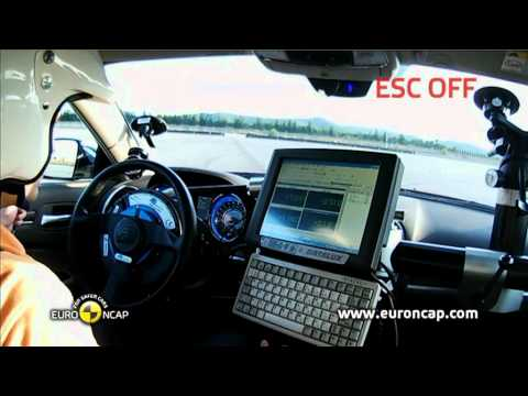 Euro NCAP | Lancia Thema | 2011 | Электронный контроль устойчивости