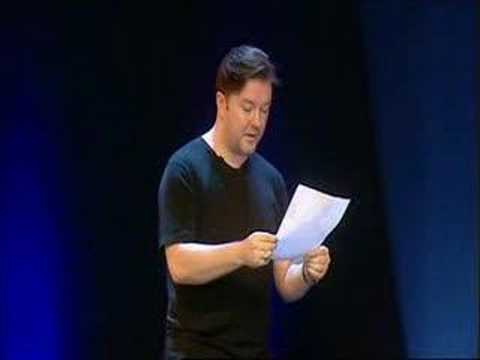Ricky Gervais Animals show part 7 of 8