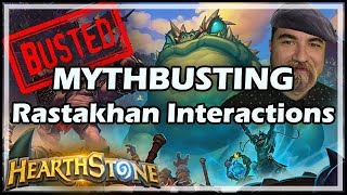MYTHBUSTING Rastakhan Interactions - Rastakhan's Rumble Hearthstone