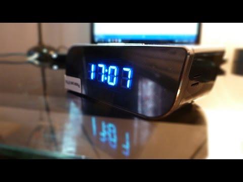 WiFi SPY Alarm Clock w/IR Review