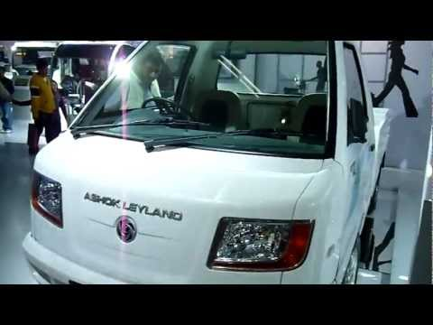 Ashok Leyland Dost, CNG Light Commercial Vehicle at Auto Expo 2012, New Delhi, India