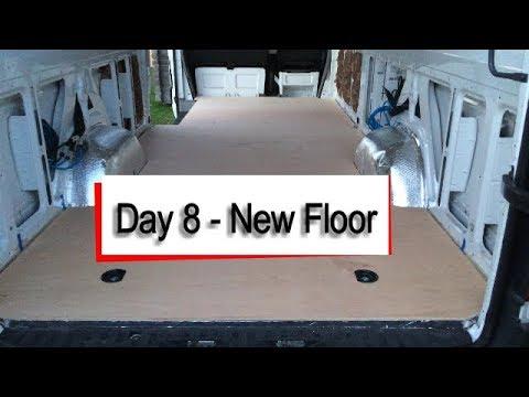 Mercedes Sprinter Camper Van - New Floor