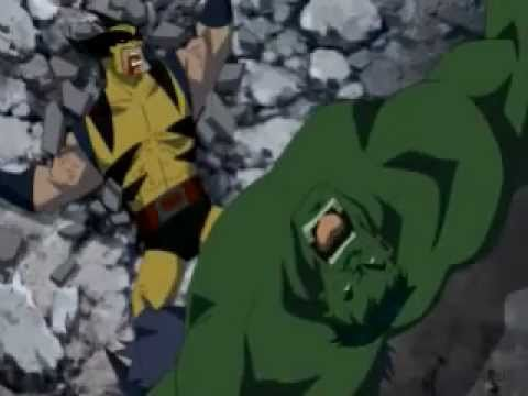 HULK vs WOLVERINE  music video