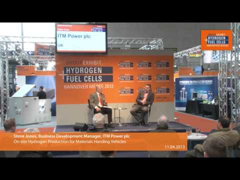 On-site Hydrogen Production for Materials Handing Vehicles