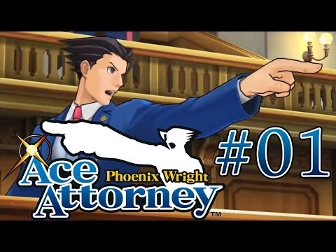 Phoenix Wright: Ace Attorney Blind! - Case 1 [Part 1]