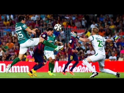 Fc Barcelona Vs Club León 6 0 Trofeo Joan Gamper 2014