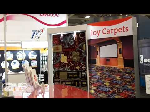 CEDIA 2016: Joy Carpets Shows Any Day Matinee Home Theater Carpets