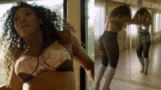 Serena Williams STRIPS DOWN, Shows Off Dancing and Twerking Skills in Bra Ad