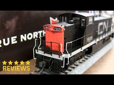 Product Review RAPIDO TRAIN INC CN GMD-1 DCC Sound 10515