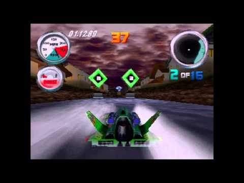 Hydro Thunder (Actual N64 Capture) - The Far East