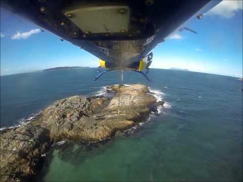 RACQ CQ Rescue - SOS in the sand rescue - Wigton Island 21.04.14