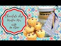 CHOCOLATE CHIP MUFFIN  MIX!!  GIFT IN A JAR!!  THE HOLIDAYS ARE COMING!!