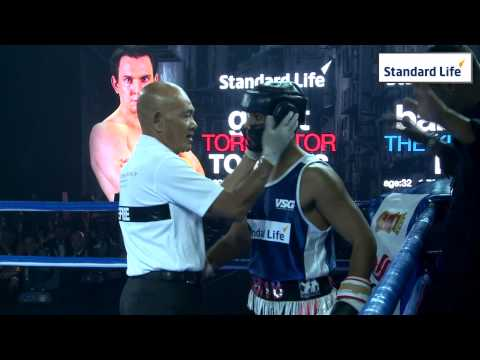 iFS White Collar Boxing Singapore November 2013 - Bout 4: Grant Torrens vs Babs Khanduja