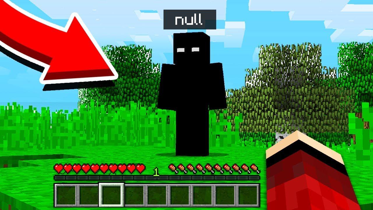 I FOUND NULL in Minecraft Pocket Edition