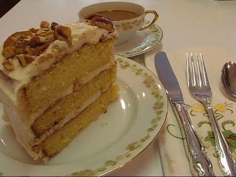 Betty's Dreamy Italian Cream Cake (for Easter)