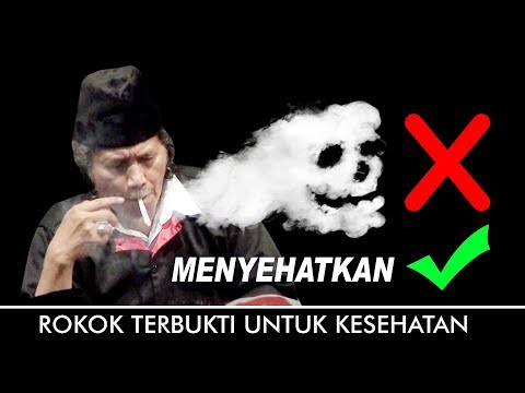 MANFAAT ROKOK , Rokok Itu Menyehatkan Cak Nun 2017