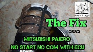 Mitsubishi Pajero No Start No Com The Fix Part 2 Bodgit And Leggit Garage