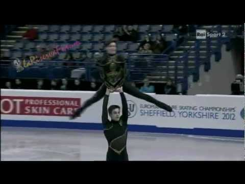 Europei Sheffield PAIRS FS -2/16- Sally HOOLIN  James HUNT - 26/01/2012