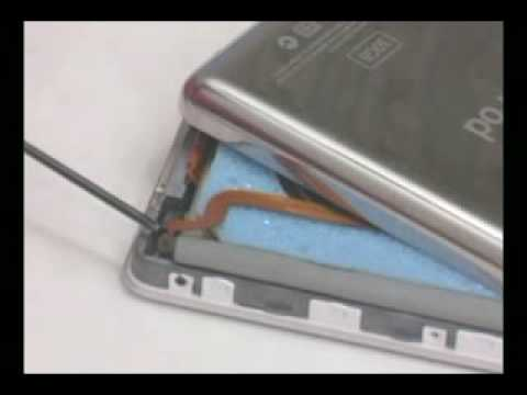 iPod Video 5th Gen and iPod Classic Battery Installation