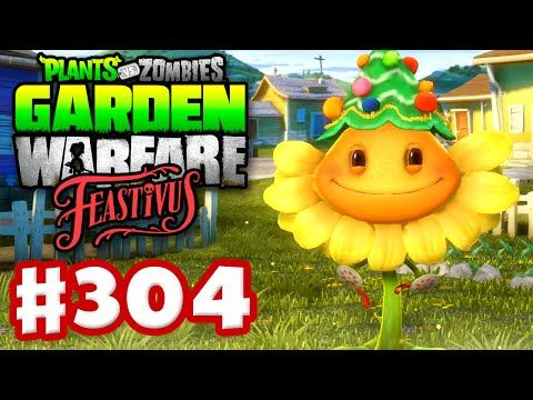 Plants vs. Zombies: Garden Warfare - Gameplay Walkthrough Part 304 - Feastivus Holiday Tree! (PC)