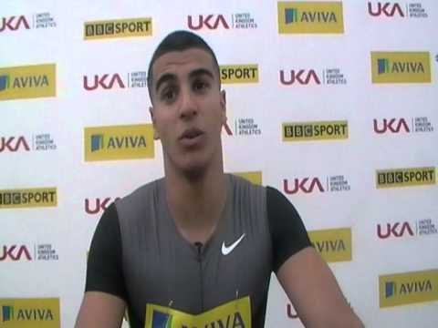 Aviva Birmingham Grand Prix   Adam Gemili Mens 200m