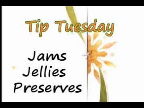 Jam Jelly Preserves - The Big Difference
