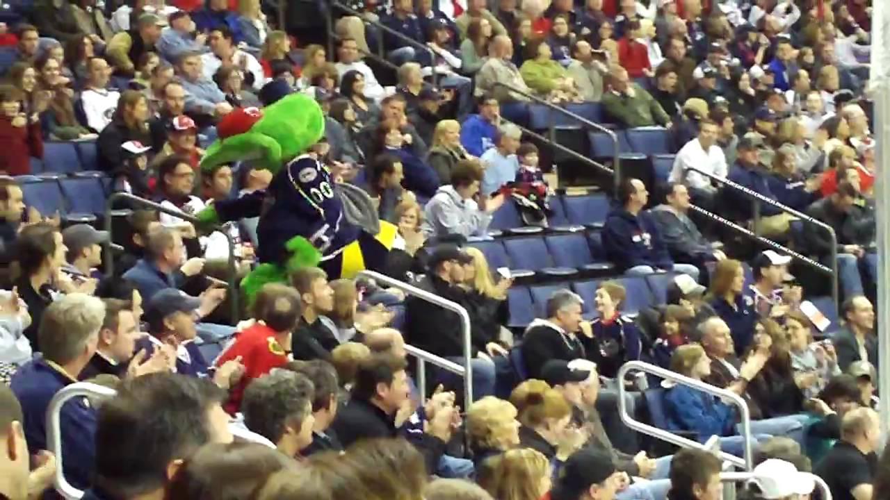 Blue Jackets Mascot Boomer The Blue Jackets Mascot