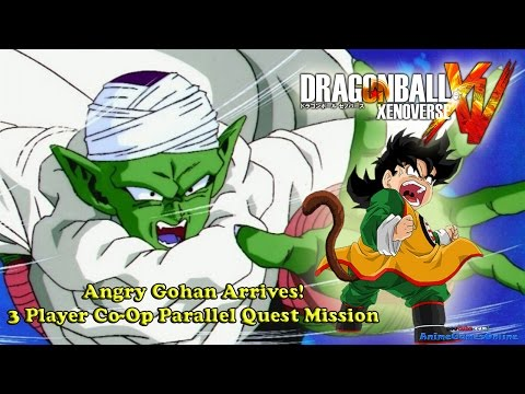 Dragon Ball Xenoverse Angry Gohan Arrives! (Parallel Quest Mission)