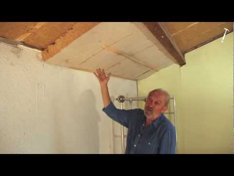 Isolation videolike for Isolation sous toiture garage