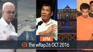 Duterte in Japan, citizens' hotline, Vatican on cremation | 6PM wRap