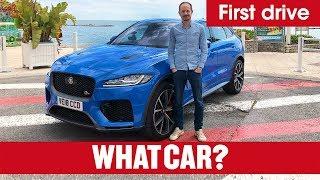2019 Jaguar F-Pace SVR review – new V8 SUV Porsche Macan rival | What Car?