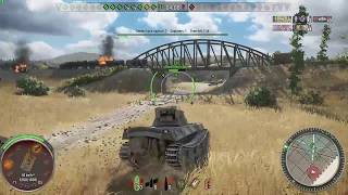 Japanese heavy tank The Nameless - World of Tanks - Valkyria Chronicles - Xbox One gameplay