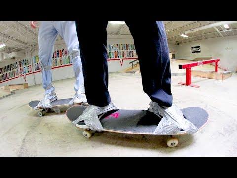 Stuck To Your Skateboard Game Of S.K.A.T.E. / Sam Vestal VS Thomas Alvarez