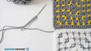 How to Join Granny Squares with Invisible Seam