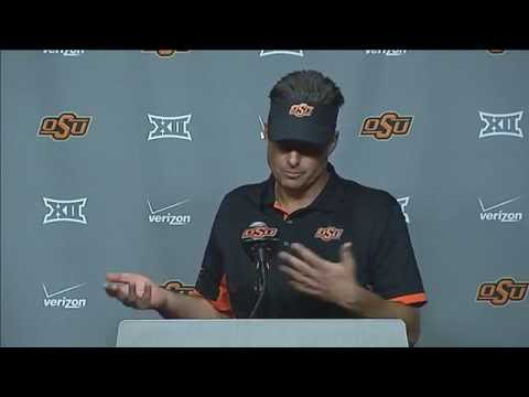 Mike Gundy Postgame News Conference - Nov. 7, 2015