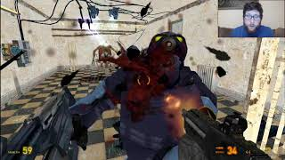 Half Life 2 Ep. 18--GRENADE TO THE FACE